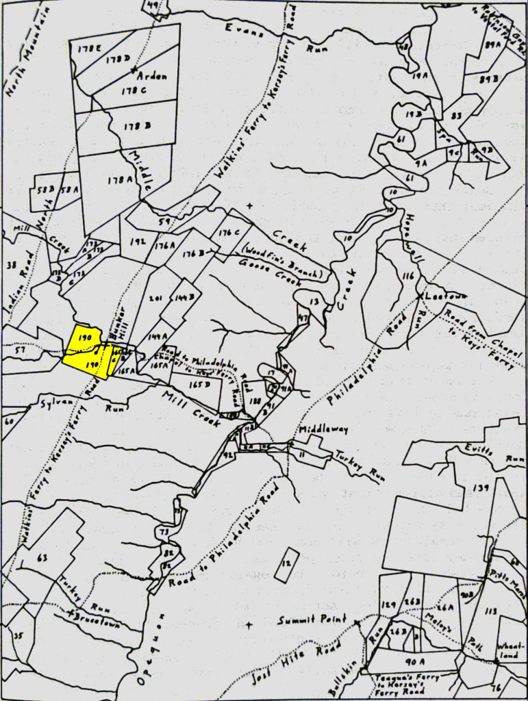Andrew Caldwell Sr 1752 Land Purchase from Patrick Reily in Bunker Hill, W. Va.