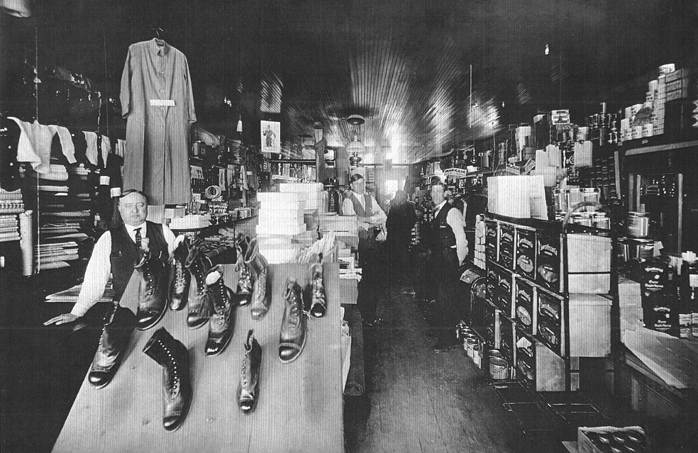 Inside Fitzgerald's General Store